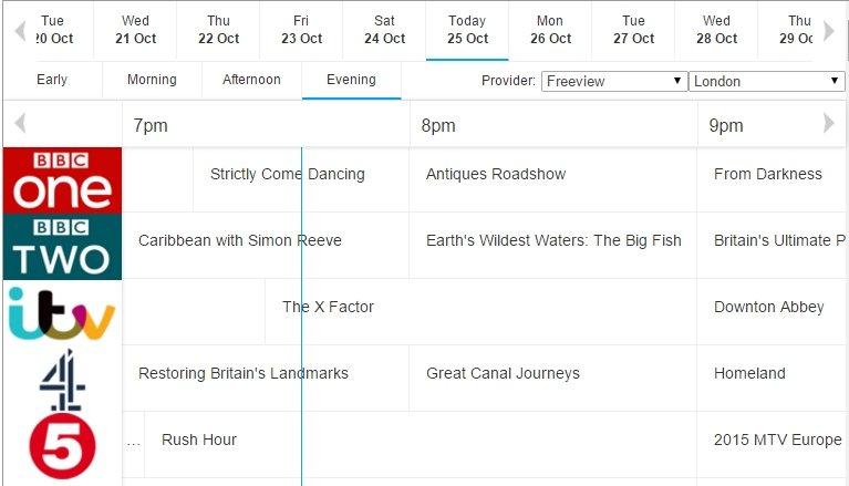 TV Choice Online listing
