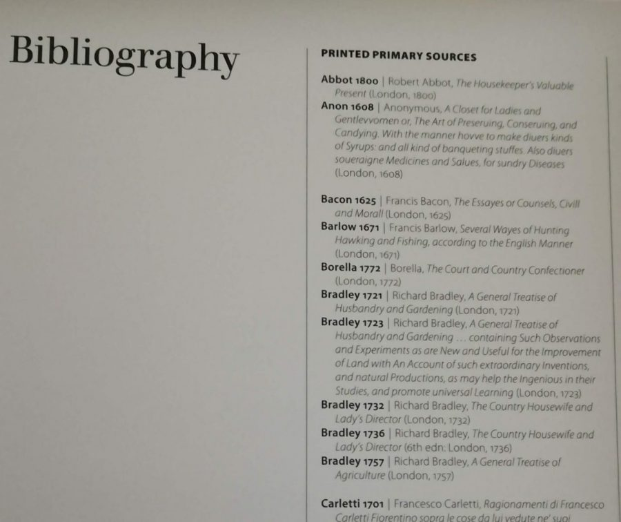 Exhibition catalogue list of citations